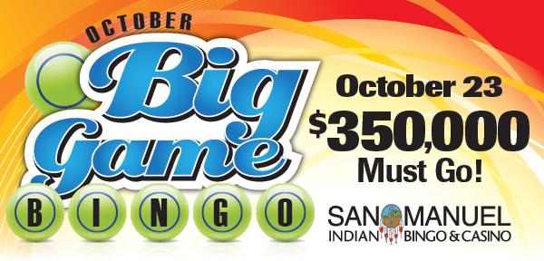 San manuel indian bingo casino coupons